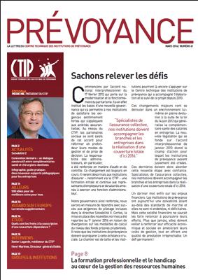 Prévoyance n° 61 – Mars 2014