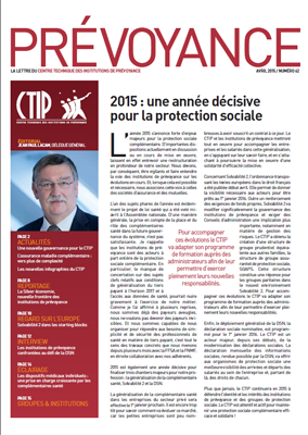 Prévoyance n° 62 – Avril 2015