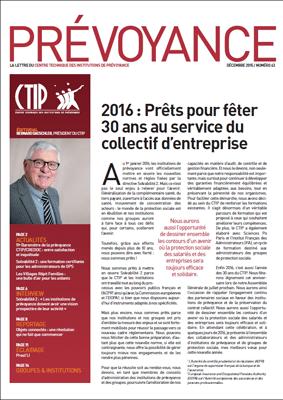 Prévoyance n° 63 – Décembre 2015