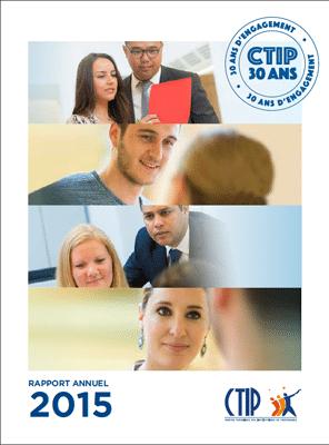 Rapport annuel du CTIP 2015