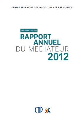 Rapport du médiateur 2012
