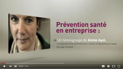 Action sociale : sensibiliser les salariés à la prévention santé