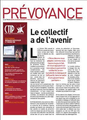 Prévoyance n° 64 – Septembre 2016