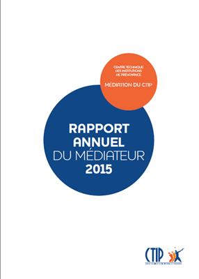 Rapport du médiateur 2015