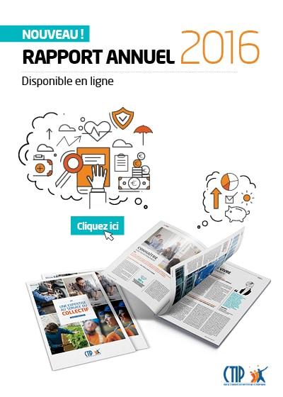 Rapport annuel 2016 du CTIP est disponible