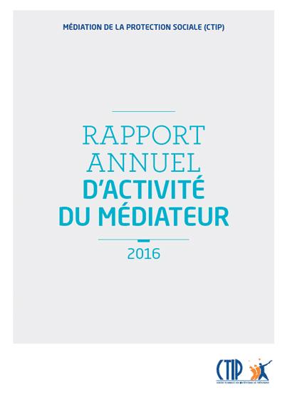 Rapport du médiateur 2016 : un outil de travail pour les institutions
