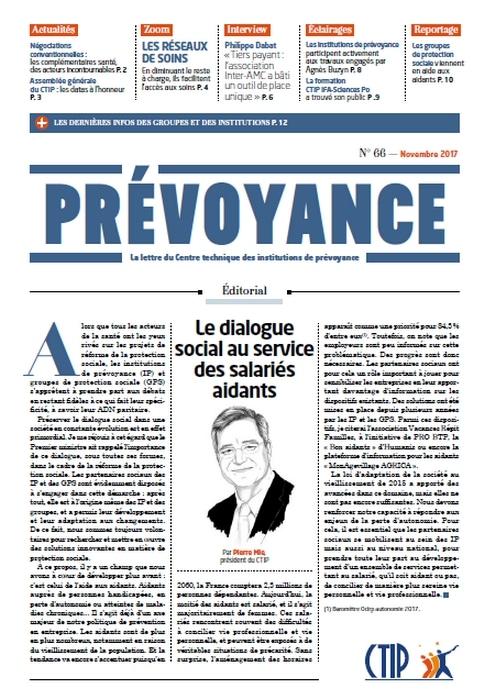 Prévoyance n° 66 – Novembre 2017