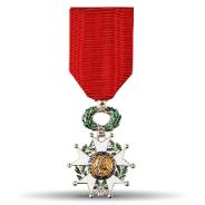 Remise de l'insigne de Chevalier de la Légion d'honneur à Jean Paul Lacam