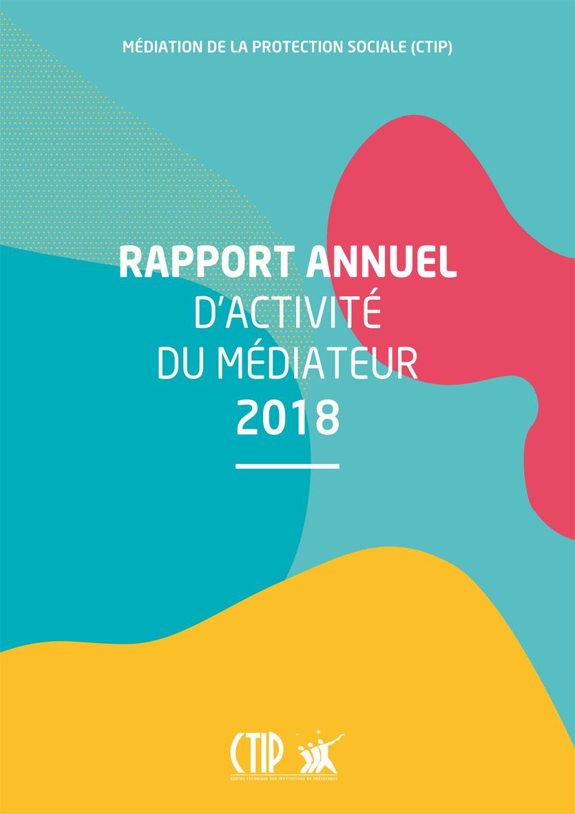 Rapport annuel d'activité du Médiateur 2018
