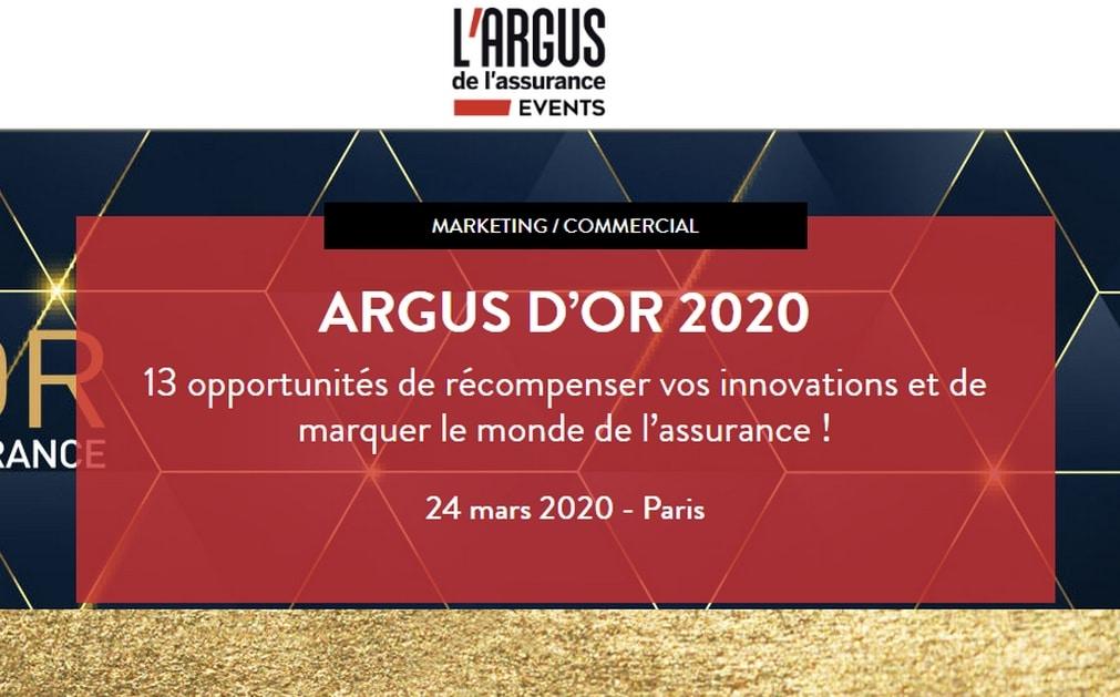 Trophées : Argus d'or 2020
