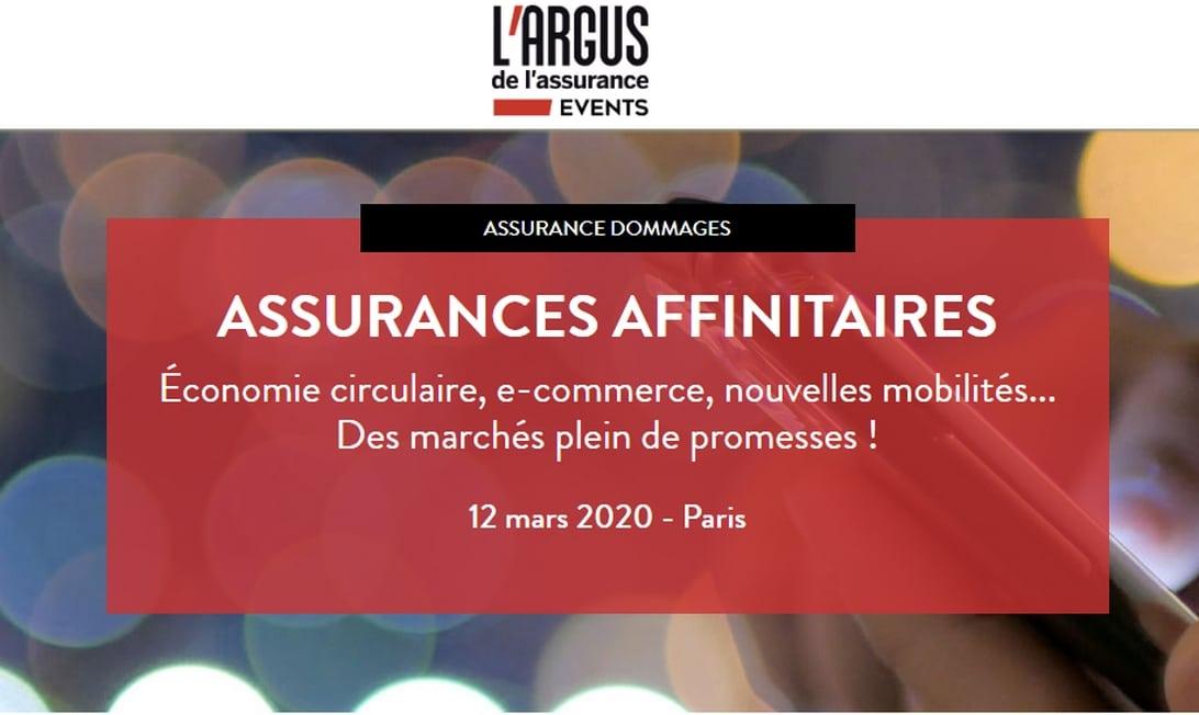 Conférence : Assurances affinitaires