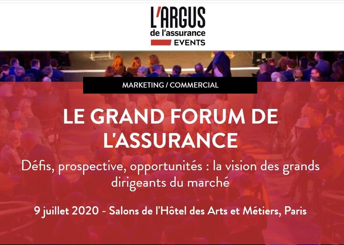 Conférence : Le grand forum de l'assurance