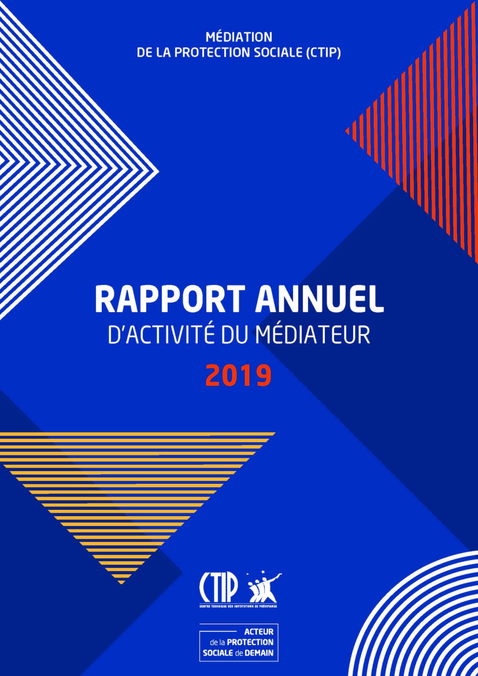 Rapport annuel d'activité du Médiateur 2019