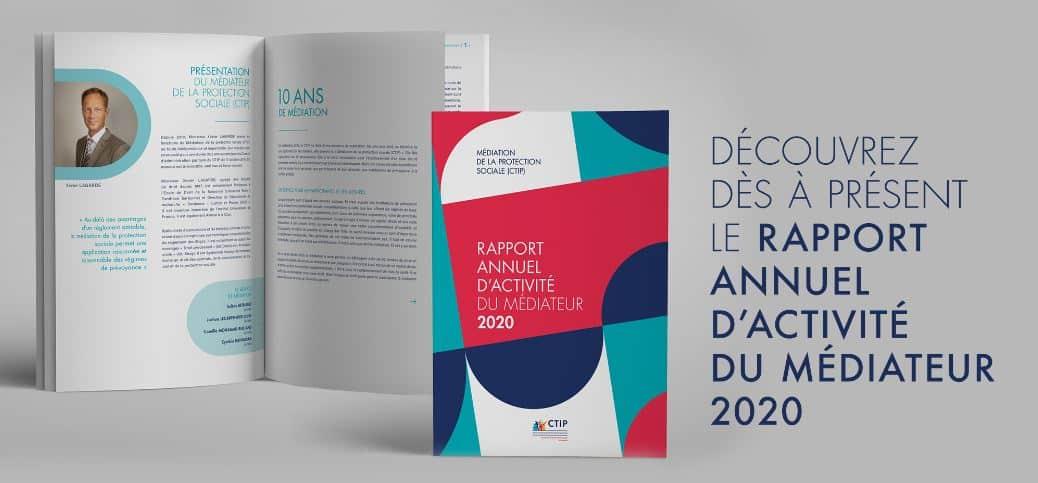 Médiation de la protection sociale (CTIP) – Rapport 2020